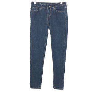 Levi's 535 Legging Women's Blue Skinny Jeans BU